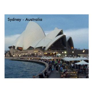 Teatro de la ópera, Sydney, Nuevo Gales del Sur, Postal