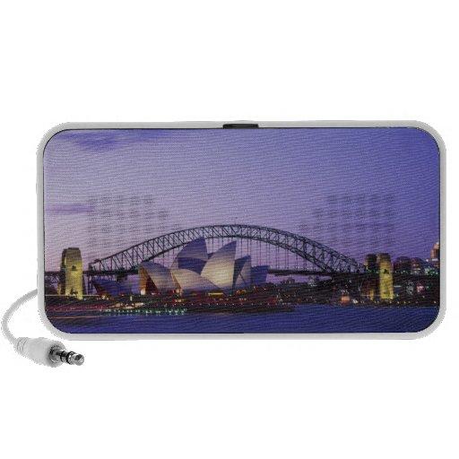 Teatro de la ópera y puerto, nuevo sur 2 de Sydney Laptop Altavoz