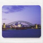 Teatro de la ópera y puerto, nuevo sur 2 de Sydney Alfombrilla De Ratones