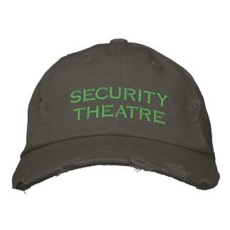 teatro de la seguridad gorro bordado
