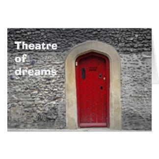 Teatro de la tarjeta de los sueños
