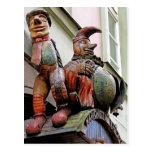 Teatro de las marionetas (2) postal