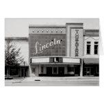 Teatro de Lincon, Fayettville Tennesseee Tarjetón