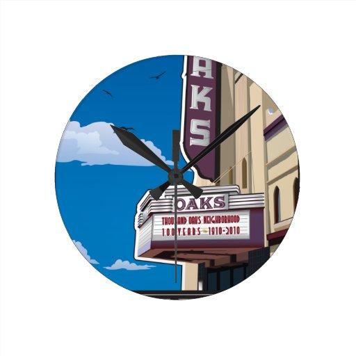 Teatro de los robles en la avenida de Solano en Be Relojes De Pared