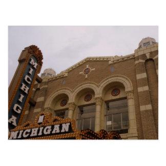 Teatro de Michigan, Ann Arbor Tarjeta Postal