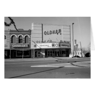Teatro de Oldham, Winchester Tennessee Tarjeton