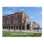 Teatro de Paramount en el parque de Asbury, NJ Postales