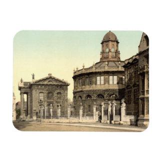 Teatro de Sheldonian, Oxford, Inglaterra Iman Rectangular