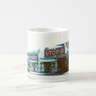 Teatro de Utopía y taza de Rogers
