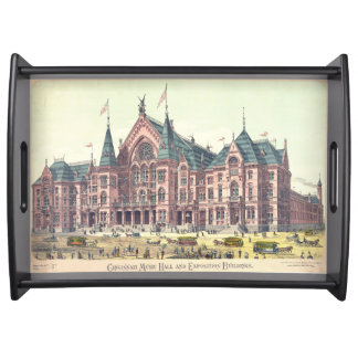 Teatro de variedades 1879 Cincinnati Bandeja