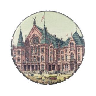 Teatro de variedades 1879 Cincinnati Latas De Caramelos