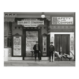 Teatro de vodevil, 1910 postal