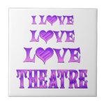 Teatro del amor del amor azulejos