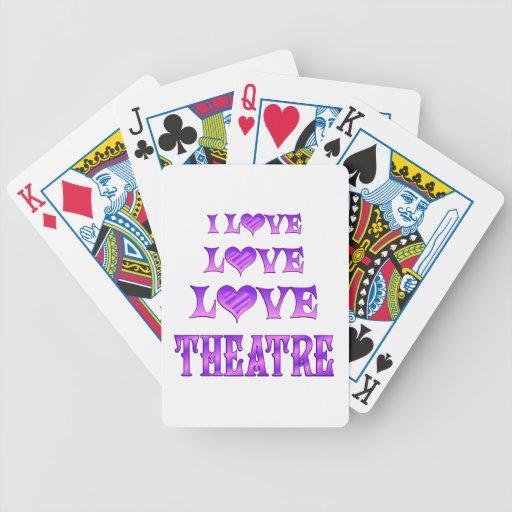Teatro del amor del amor baraja