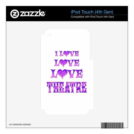 Teatro del amor del amor iPod touch 4G skins