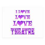 Teatro del amor del amor postal