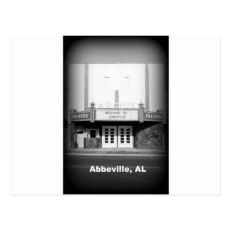 TEATRO DEL ARCHIE - ABBEVILLE, ALABAMA POSTALES