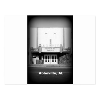 TEATRO DEL ARCHIE - ABBEVILLE, ALABAMA POSTAL