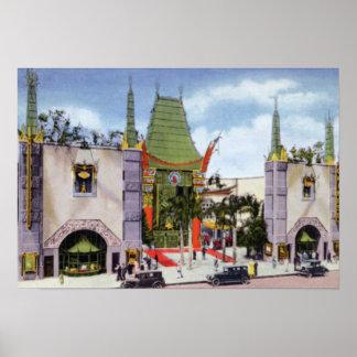Teatro del chino de Los Ángeles California Grauman Impresiones