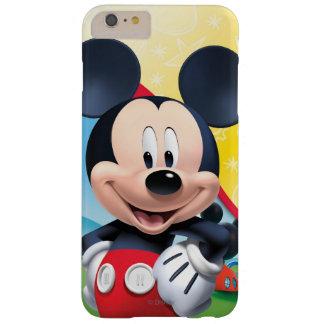 Teatro del club el   de Mickey Mouse Funda De iPhone 6 Plus Barely There