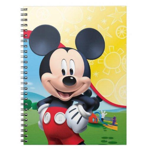 Teatro del club el | de Mickey Mouse Libro De Apuntes Con Espiral