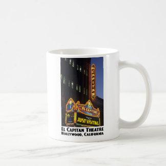 Teatro del EL Capitan, taza de Hollywood