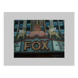 Teatro del Fox, Detroit, Michigan Tarjetas Postales