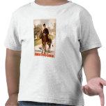 Teatro del hombre y del burro de la cabina de tío camiseta