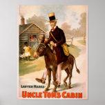Teatro del hombre y del burro de la cabina de tío  póster