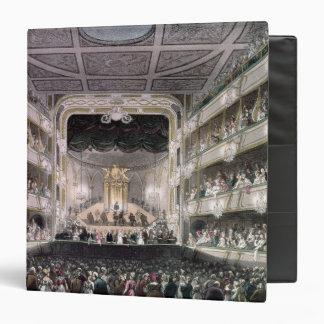 """Teatro del jardín de Covent Carpeta 1 1/2"""""""