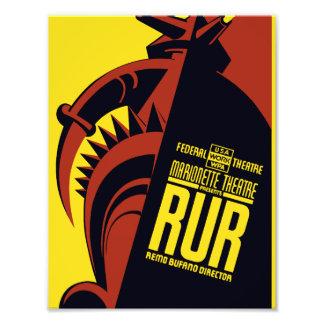 """Teatro federal: Presentes """"RUR """" del teatro de la Fotografías"""