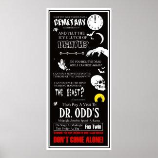 Teatro gemelo del Dr. Odd At The Fox Impresiones