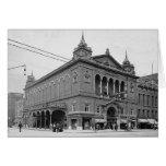 Teatro Indianapolis Indiana de 1902 parques Felicitacion