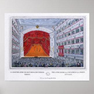 Teatro Karntnertor Viena Póster