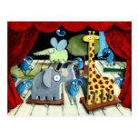 Teatro mágico tarjeta postal