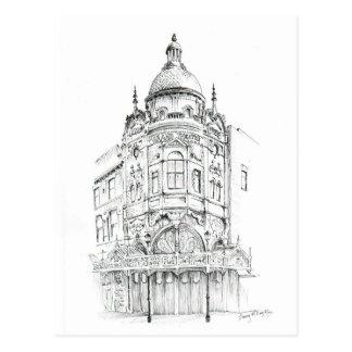 Teatro magnífico de Blackpool Tarjetas Postales