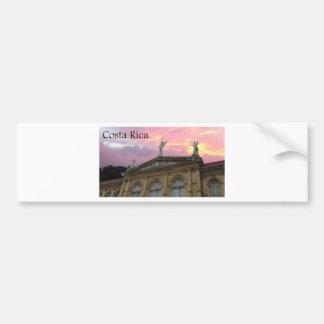 teatro nacional costa rica sunset bumper stickers
