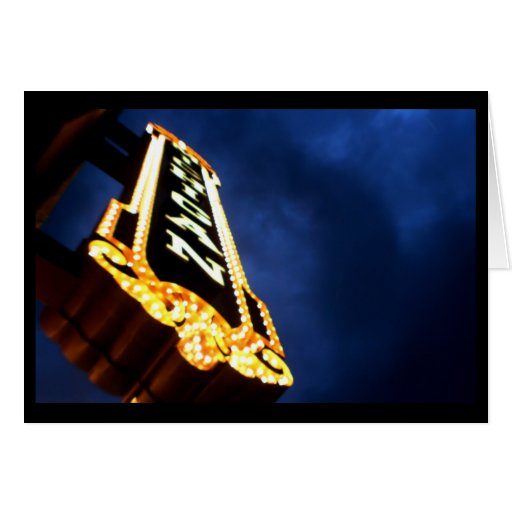 Teatro Notecards de Michigan Tarjeta Pequeña