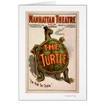 Teatro Nueva York Broadway de Manhattan la tortuga Tarjetas