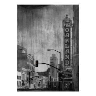 Teatro Oakland del Fox Posters
