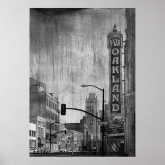 Teatro Oakland del Fox Póster