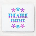 Teatro para siempre tapete de ratón