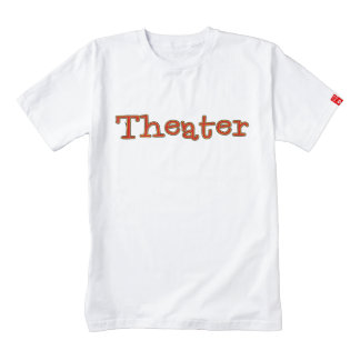 Teatro Playera Zazzle HEART