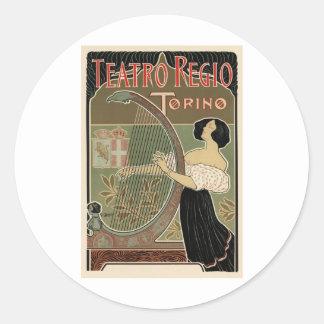 Teatro Regio Torino Sticker
