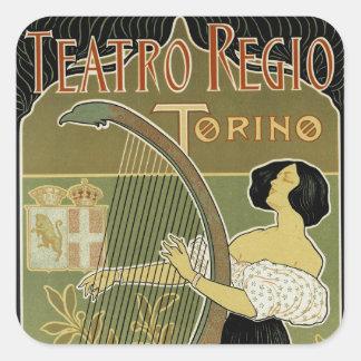 Teatro Regio Torino Stickers