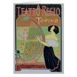 Teatro Regio Torino (teatro real) Tarjeta De Felicitación