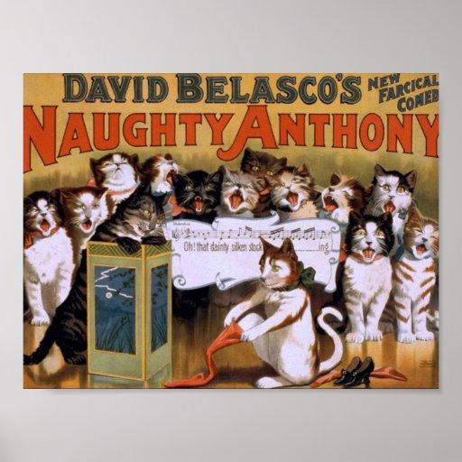 Teatro retro travieso de Anthony Impresiones