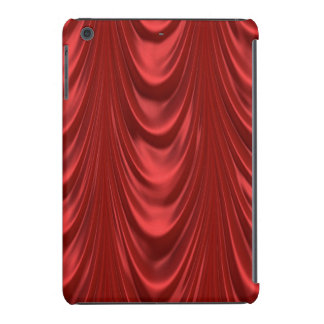 Teatro rojo temporario de las cortinas de la etapa fundas de iPad mini