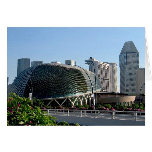 Teatro Singapur de la explanada Felicitaciones