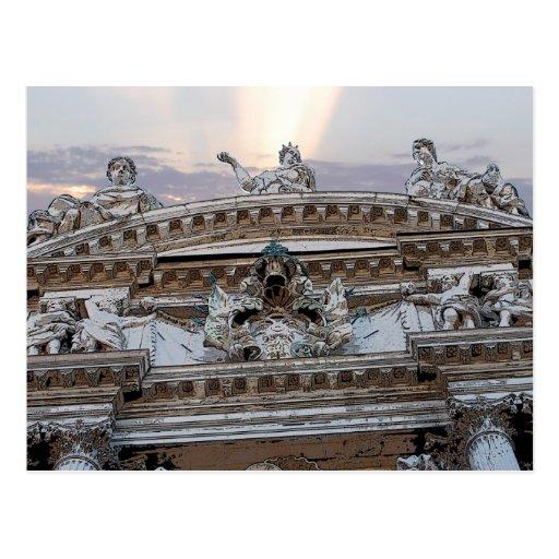 Teatro veneciano postal